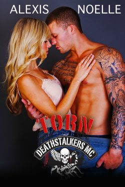 Cover Reveal: Torn (Deathstalkers MC #8) by Alexis Noelle