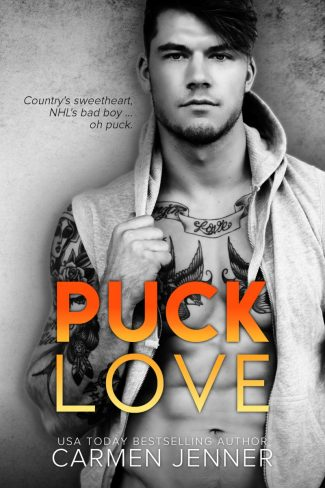 Cover Reveal: Puck Love by Carmen Jenner