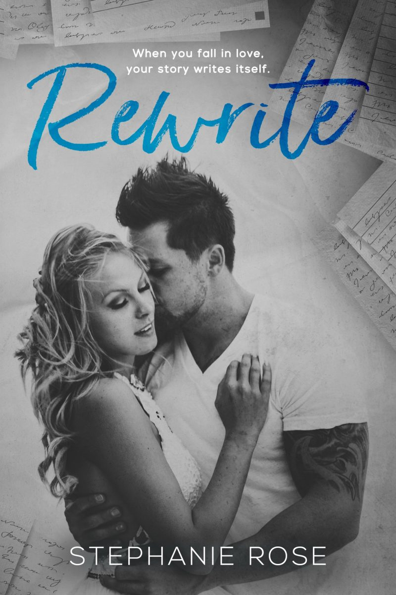 Cover Reveal & Giveaway: Rewrite by Stephanie Rose