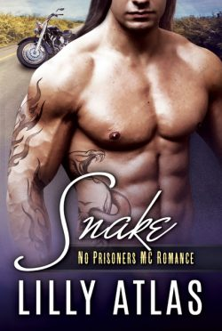 Cover Reveal: Snake (No Prisoners MC #5) by Lilly Atlas