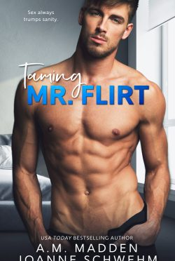 Excerpt Reveal: Taming Mr Flirt by AM Madden & Joanne Schwehm