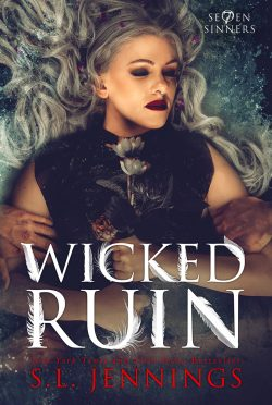 Cover Reveal: Wicked Ruin (Se7en Sinners #3) by SL Jennings