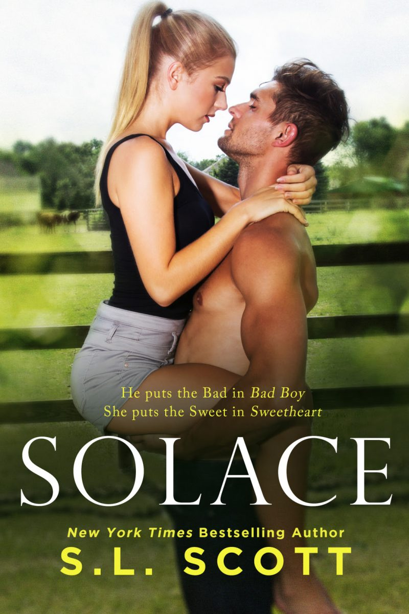 Cover Reveal & New Release: Solace by SL Scott
