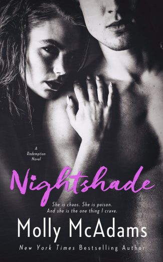 Cover Reveal: Nightshade (Redemption #3) by Molly McAdams