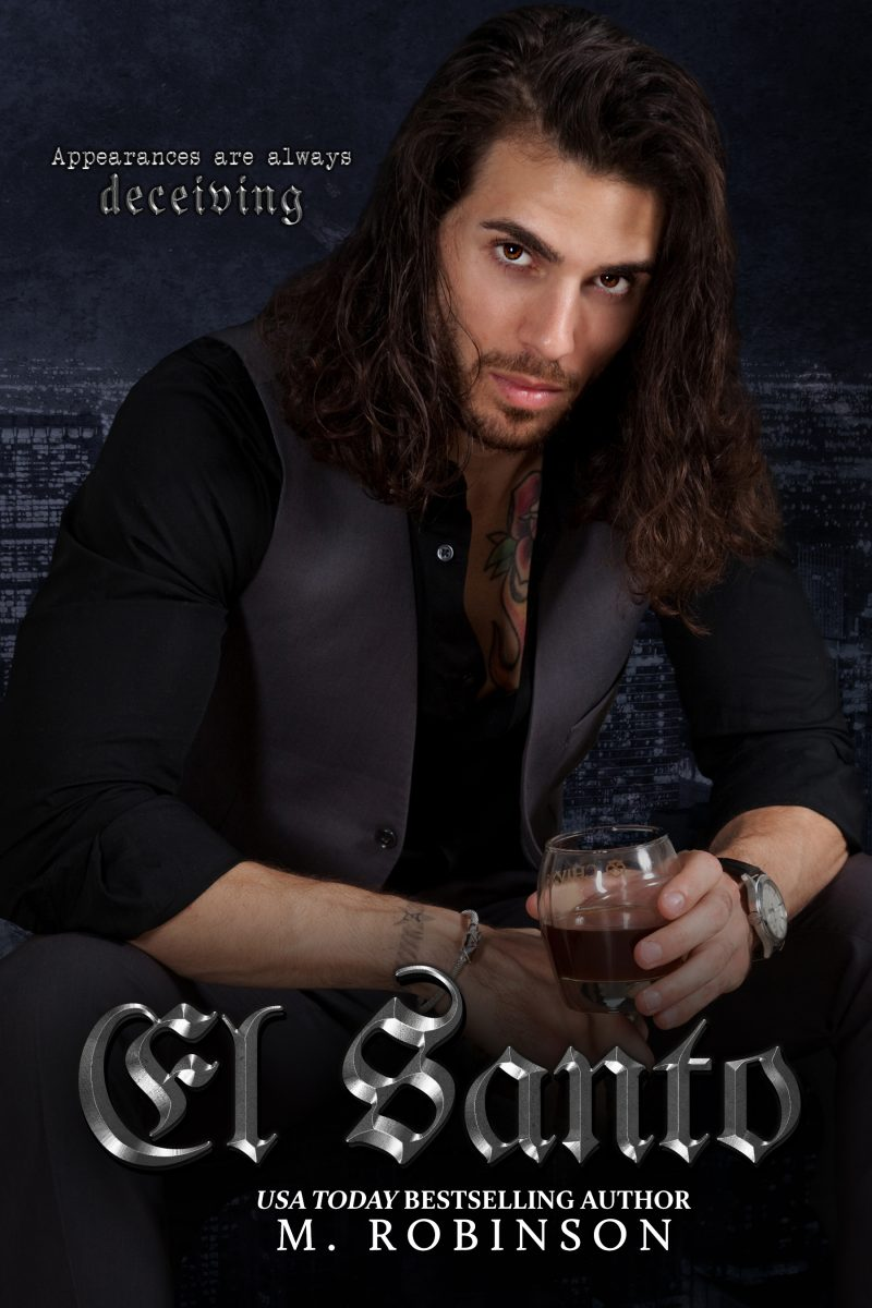 Cover Reveal & Giveaway: El Santo (The Saint) by M Robinson