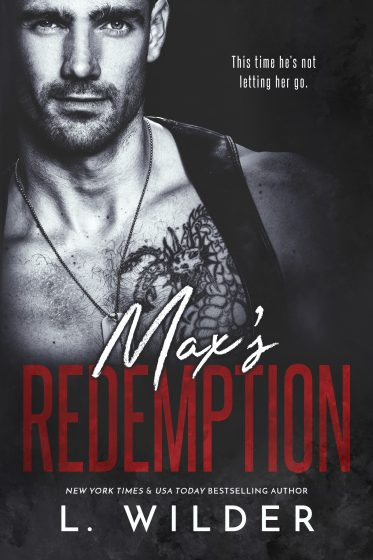 Cover Reveal: Max's Redemption (Redemption #2) by L Wilder