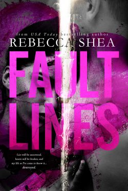 Cover Reveal: Fault Lines by Rebecca Shea