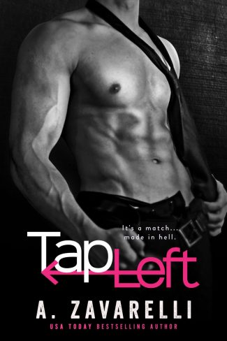 Cover Reveal & Giveaway: Tap Left by A Zavarelli