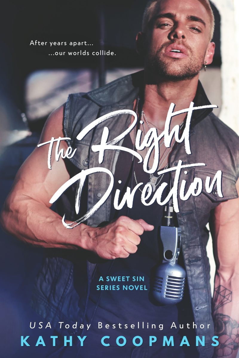 Cover Reveal: The Right Direction (The Sweet Sin #1) by Kathy Coopmans