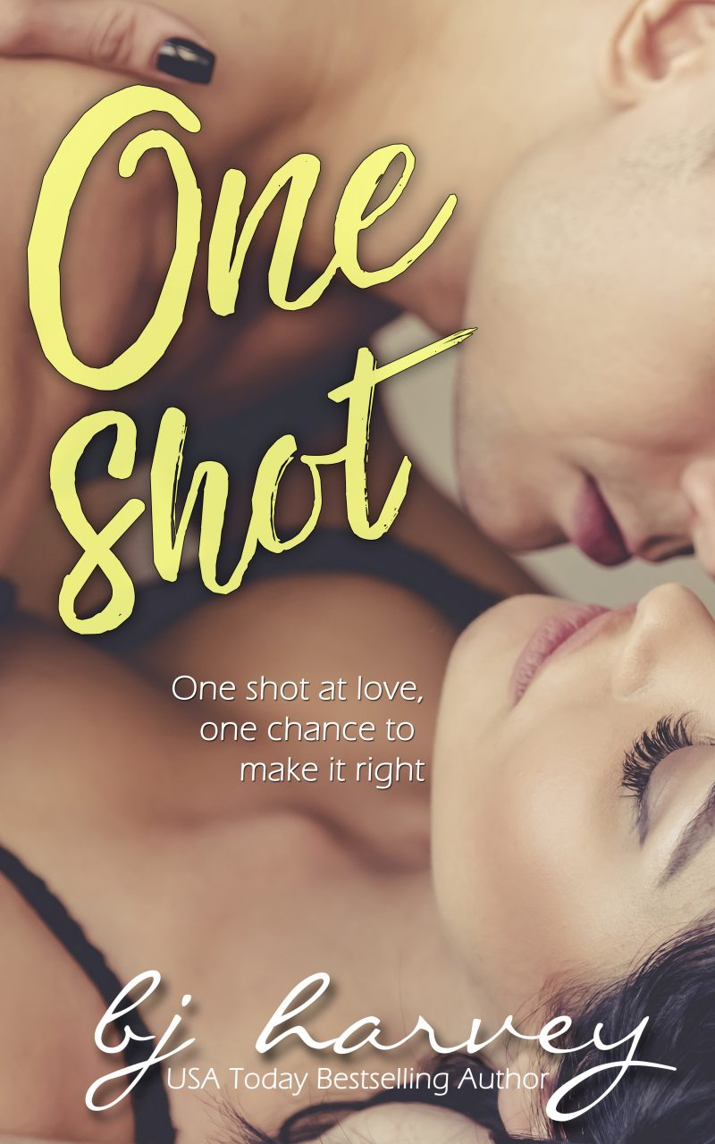 Cover Reveal & Giveaway: One Shot (Chances #1) by BJ Harvey