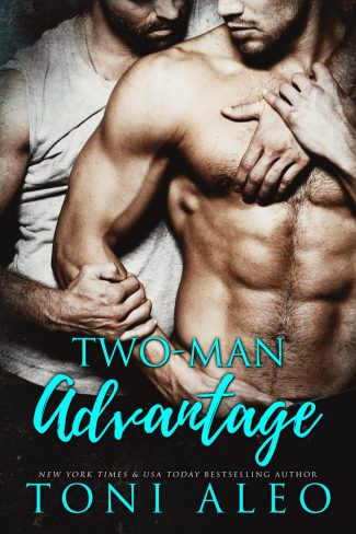 Cover Reveal: Two Man Advantage by Toni Aleo