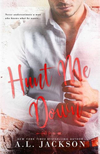 Cover Reveal: Hunt Me Down (Fight for Me #1.5) by AL Jackson