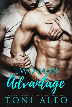 Release Day Blitz: Two Man Advantage by Toni Aleo