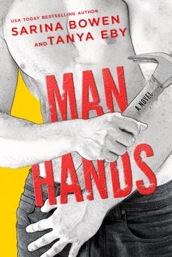 Cover Reveal: Man Hands by Sarina Bowen & Tanya Eby