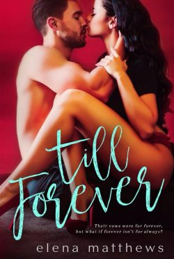 Release Day Blitz: Till Forever (Our Forever #2) by Elena Matthews