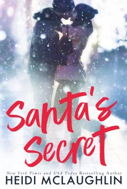 Cover Reveal & Giveaway: Santa's Secret by Heidi McLaughlin