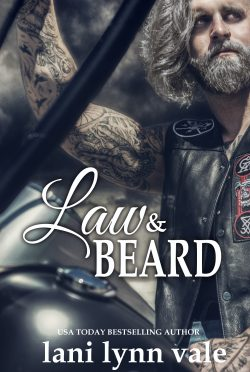 Cover Reveal & Giveaway: Law & Beard (The Dixie Warden Rejects MC #8) by Lani Lynn Vale