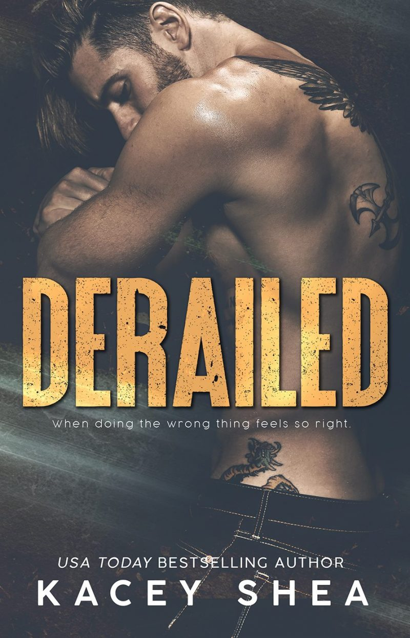 Cover Reveal: Derailed (Off Track Records #2) by Kacey Shea