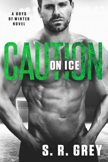 Cover Reveal: Caution on Ice (Boys of Winter #4) by SR Grey