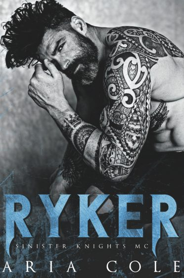 Cover Reveal: Ryker (Sinister Knights MC #1) by Aria Cole