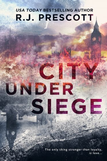 Cover Reveal: City Under Siege by RJ Prescott
