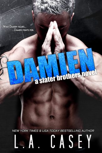 Cover Reveal: Damien (Slater Brothers #5) by LA Casey