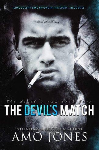Cover Reveal: The Devil's Match (The Devil's Own #5) by Amo Jones