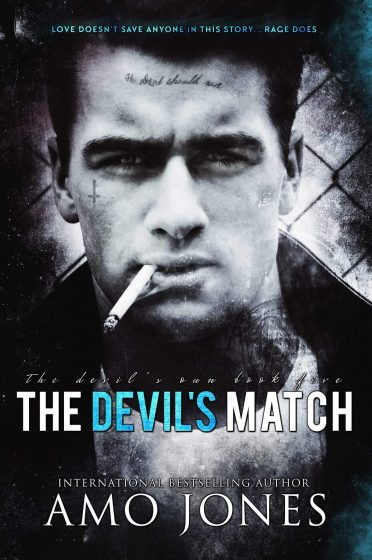 Cover Reveal: The Devil's Match (The Devil's Own #5) by Amo Jones