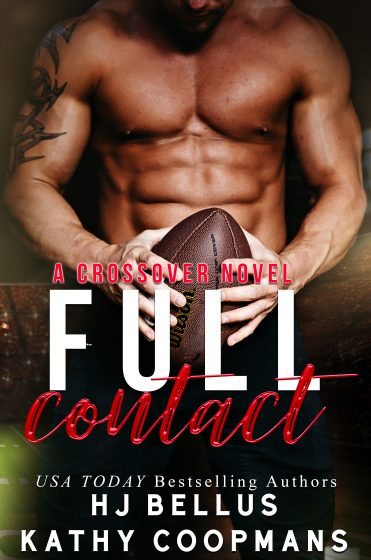 Release Day Blitz & Giveaway: Full Contact by HJ Bellus & Kathy Coopmans