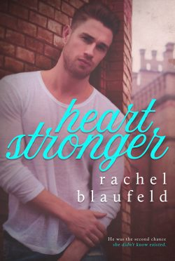 Cover Reveal: Heart Stronger by Rachel Blaufeld