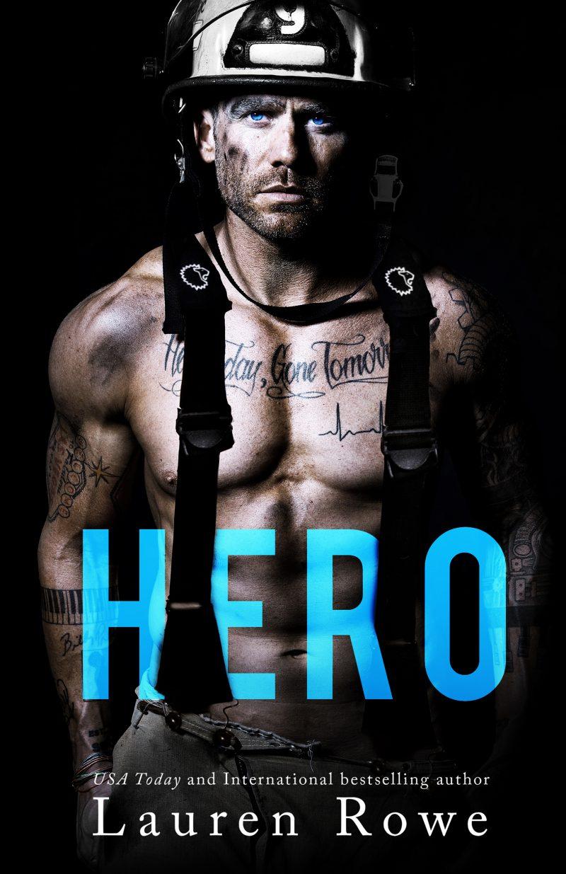 Cover Reveal: Hero (Morgan Brothers #2) by Lauren Rowe