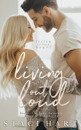 Cover Reveal: Living Out Loud by Staci Hart