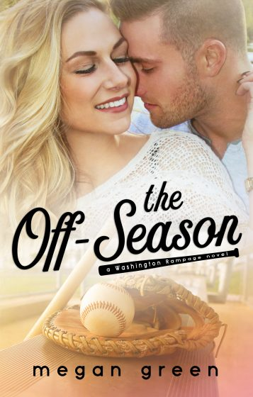 Cover Reveal: The Off-Season (Washington Rampage #1) by Megan Green