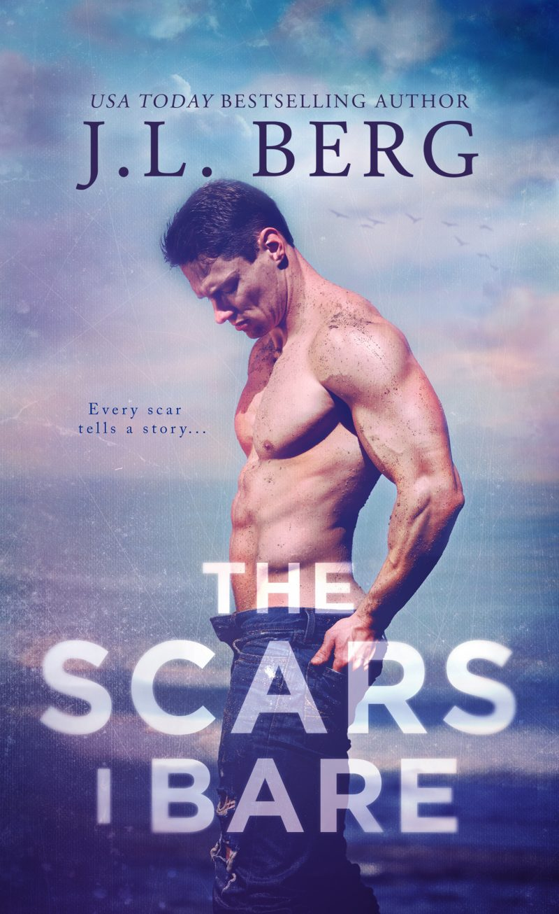 Cover Reveal: The Scars I Bare (By The Bay #2) by JL Berg