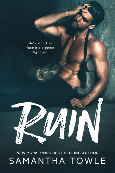 Cover Reveal: Ruin (Gods #1) by Samantha Towle