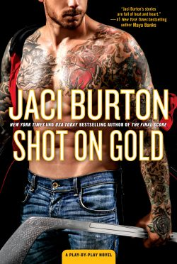 Release Day Blitz: Shot on Gold (Play-by-Play #14) by Jaci Burton