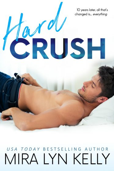 Cover Reveal & Giveaway: Hard Crush (Back to You #1) by Mira Lyn Kelly