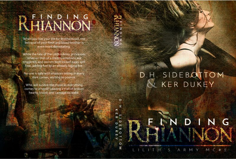 Release Day Blitz: Finding Rhiannon (Lilith's Army MC #2) by Ker