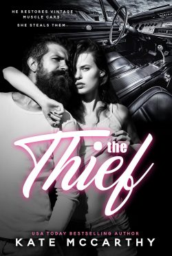 Cover Reveal: The Thief by Kate McCarthy