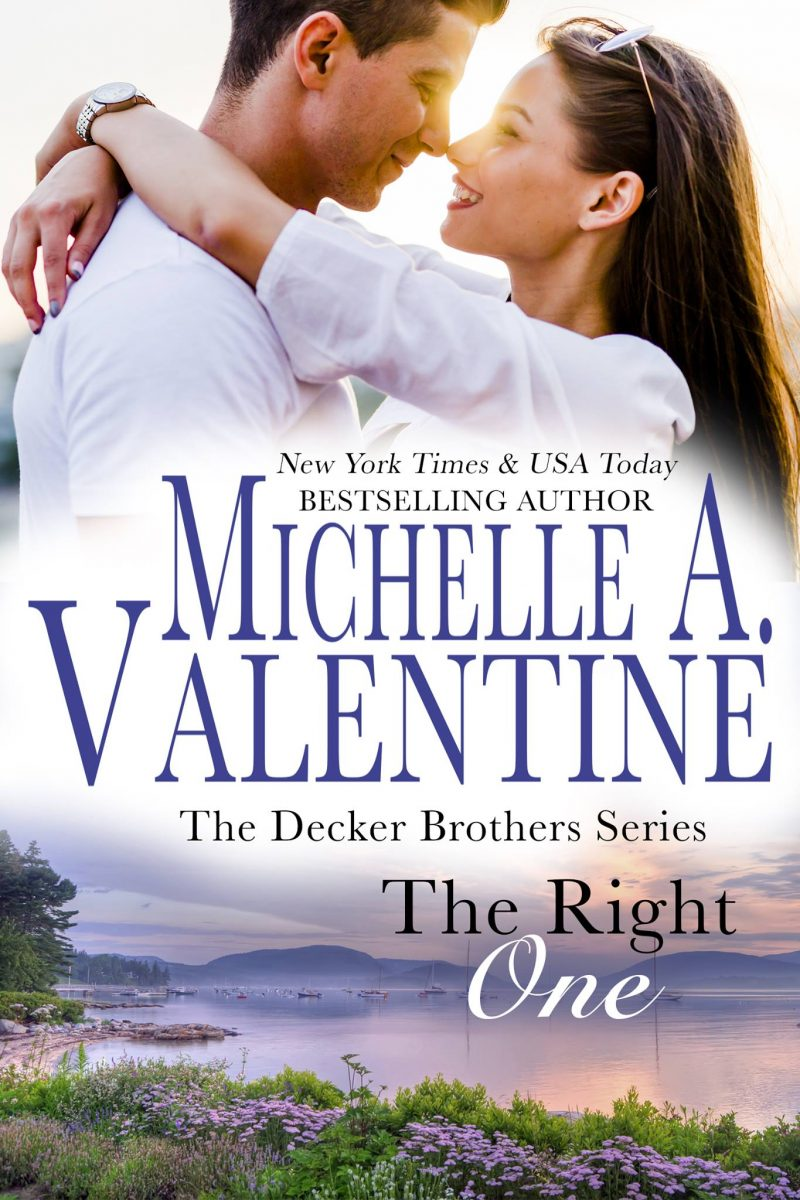 Cover Reveal: The Right One (The Decker Brothers #1) by Michelle A Valentine