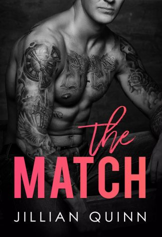 Cover Reveal: The Match by Jillian Quinn