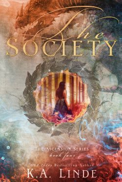 Cover Reveal: The Society (Ascension #4) by KA Linde