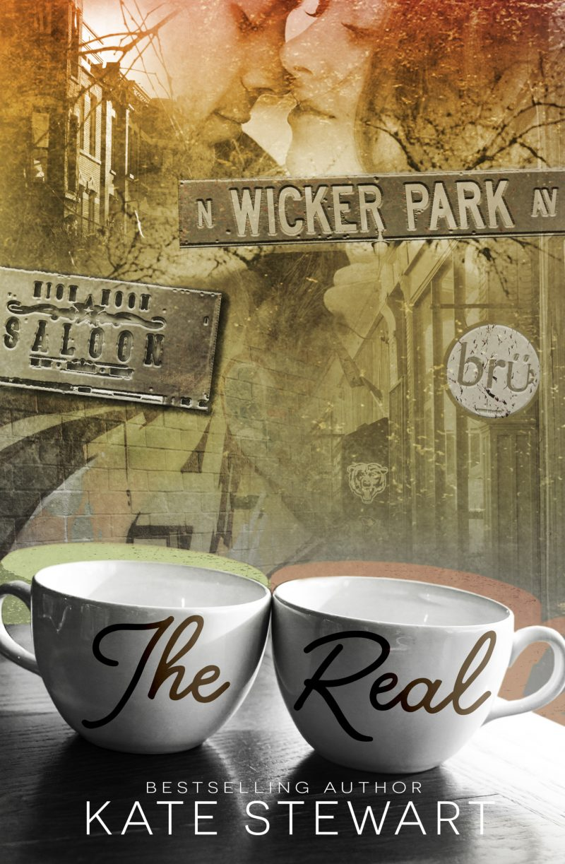 Cover Reveal: The Real by Kate Stewart