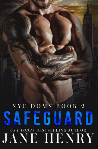 Cover Reveal: Safeguard (NYC Doms #2) by Jane Henry