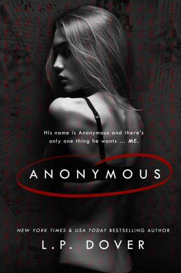Cover Reveal: Anonymous by LP Dover