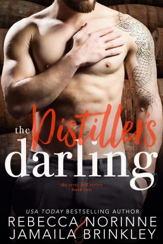 Cover Reveal: The Distiller's Darling (River Hill #2) by Rebecca Norinne & Jamaila Brinkley