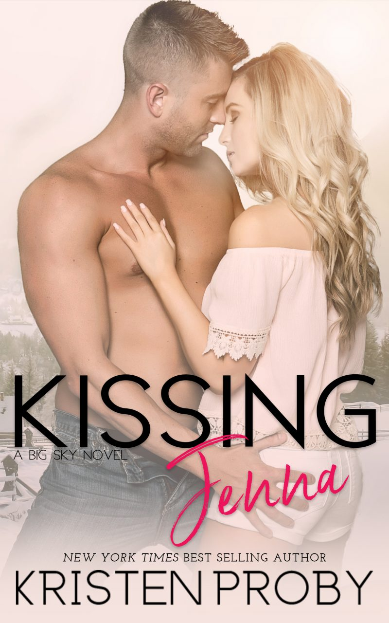 Cover Reveal: Kissing Jenna (Big Sky #2) by Kristen Proby