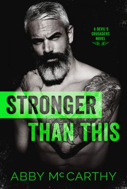 Cover Reveal: Stronger Than This by Abby McCarthy