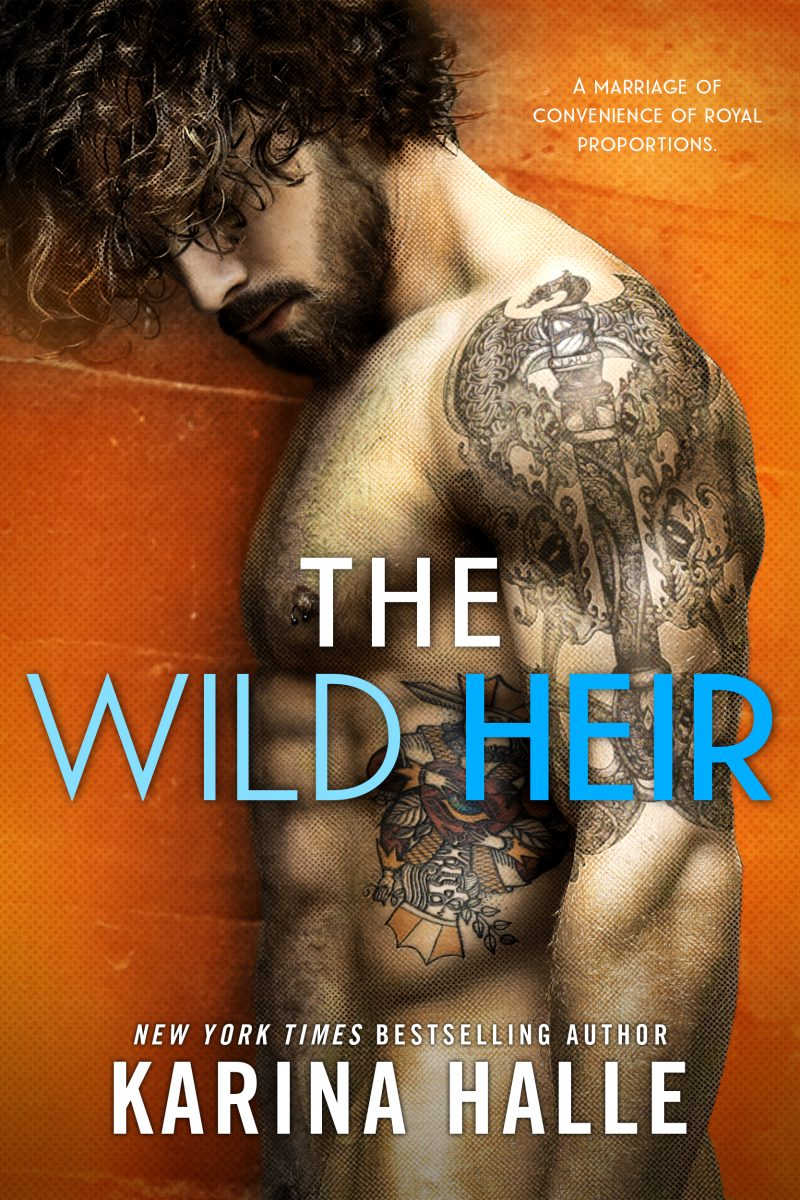 Cover Reveal: The Wild Heir by Karina Halle