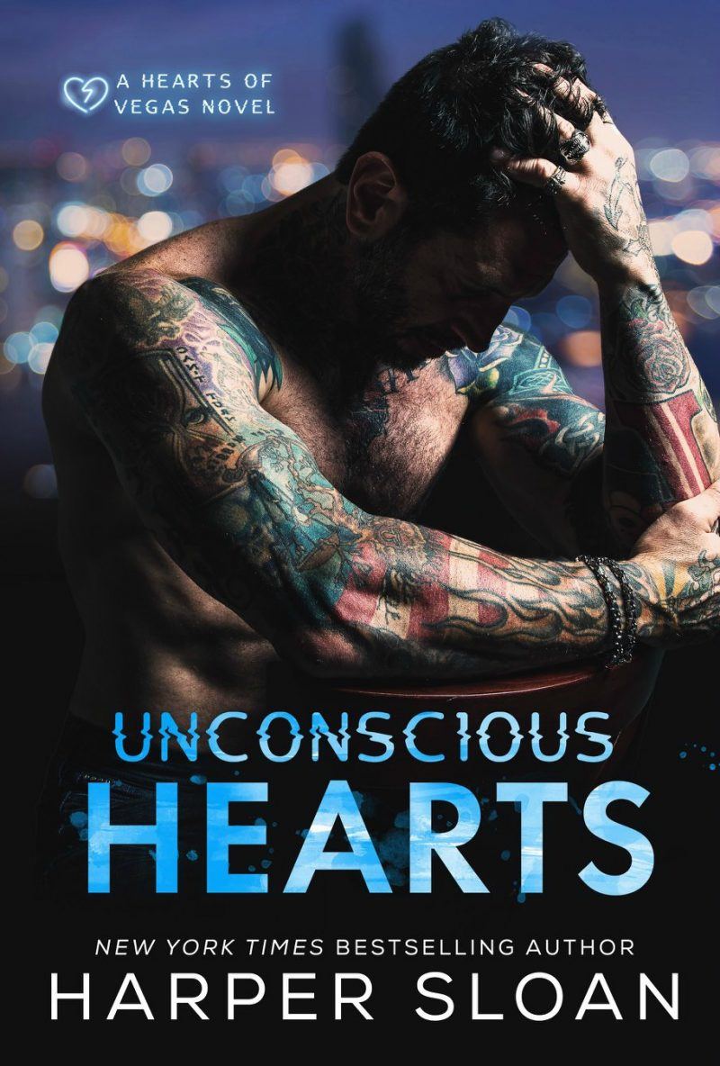 Cover Reveal: Unconscious Hearts (Hearts of Vegas #1) by Harper Sloan
